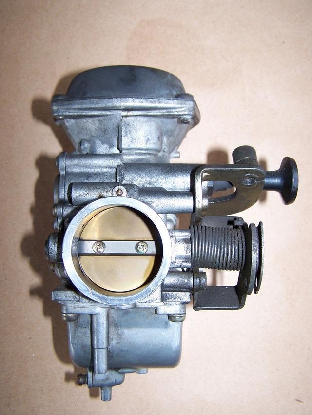 SuzukiSavage Carburetor Cleanup