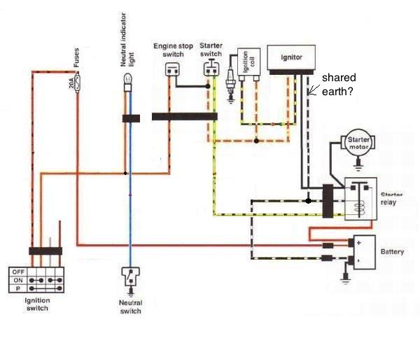 Suzuki Savage Wiring Schematic - Diagram Schematic
