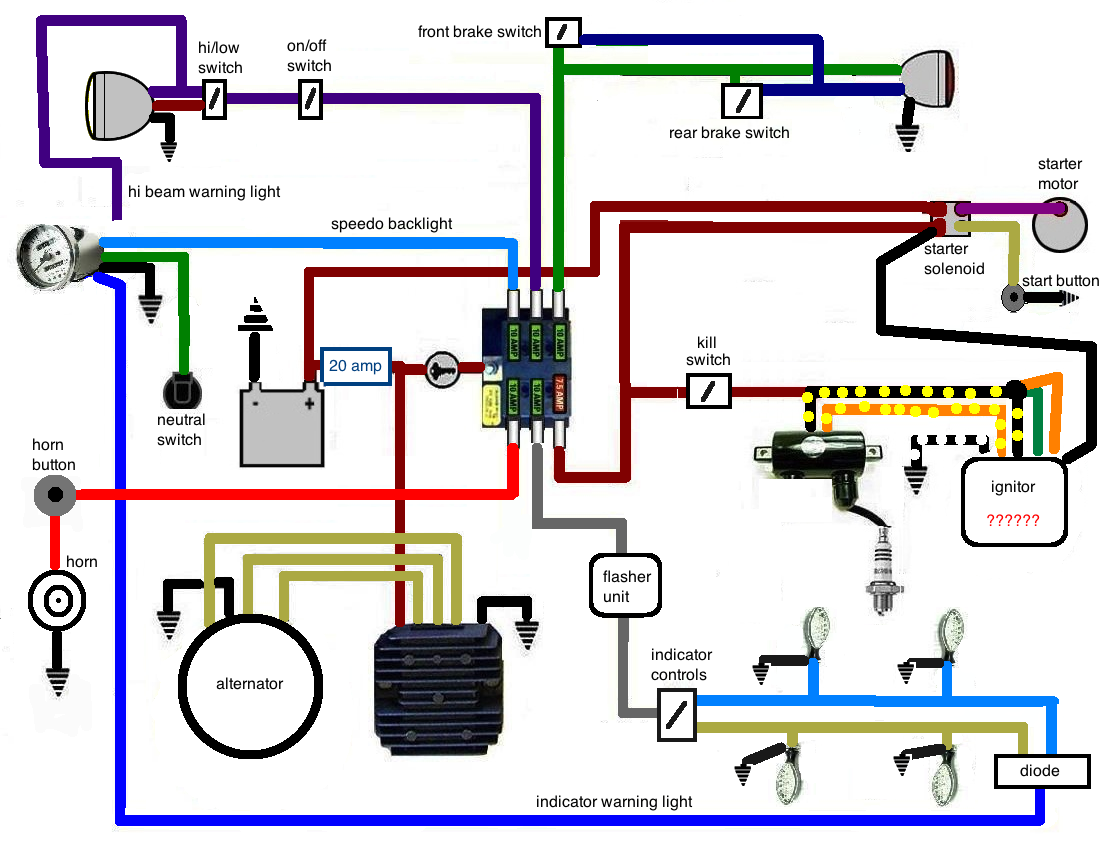 Suzuki Savage Bobber Wiring Diagram