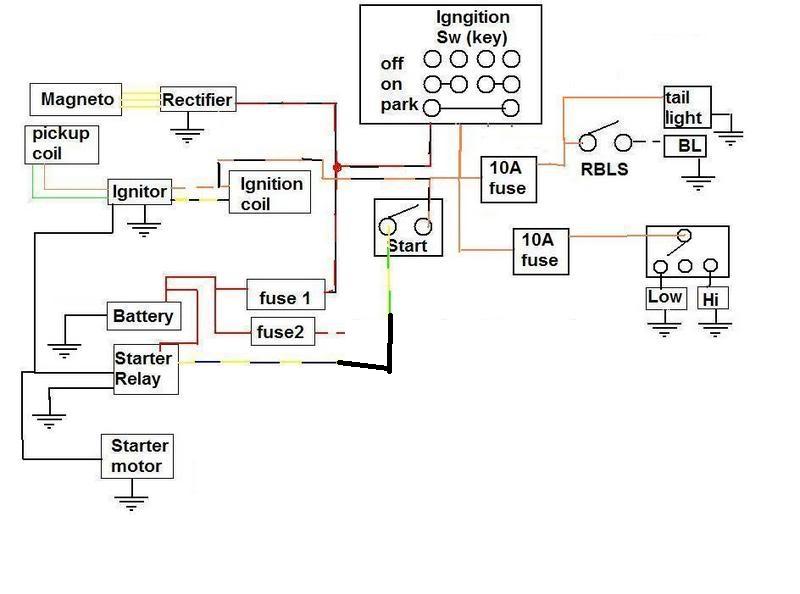 SuzukiSavage.com - Wiring diagram... LS650 2001.SuzukiSavage.com
