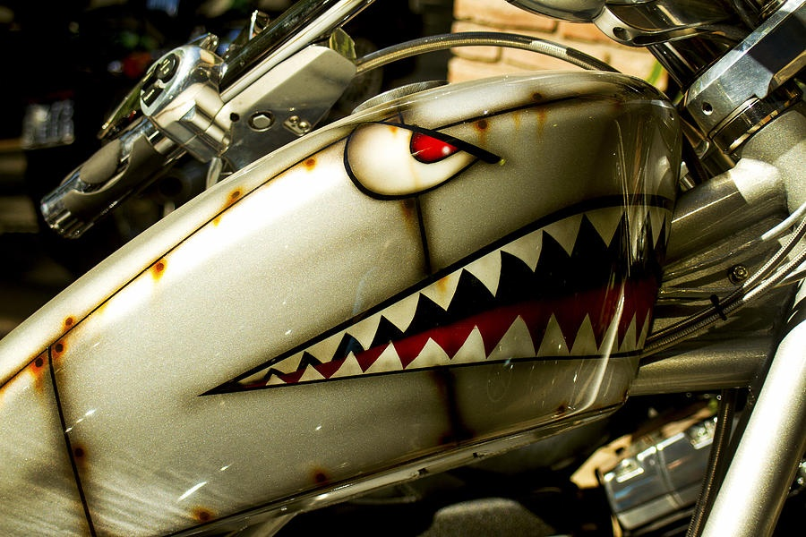 com shark mouth paint job airbrush or tape and spray image 070 jpg